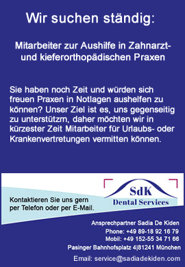 SdK Dental Services - Stellenmarkt